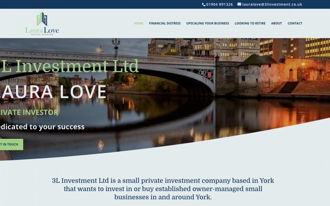 3L Investment Ltd – Logo design | Copywriting | WordPress | Website design and build | Maintenance